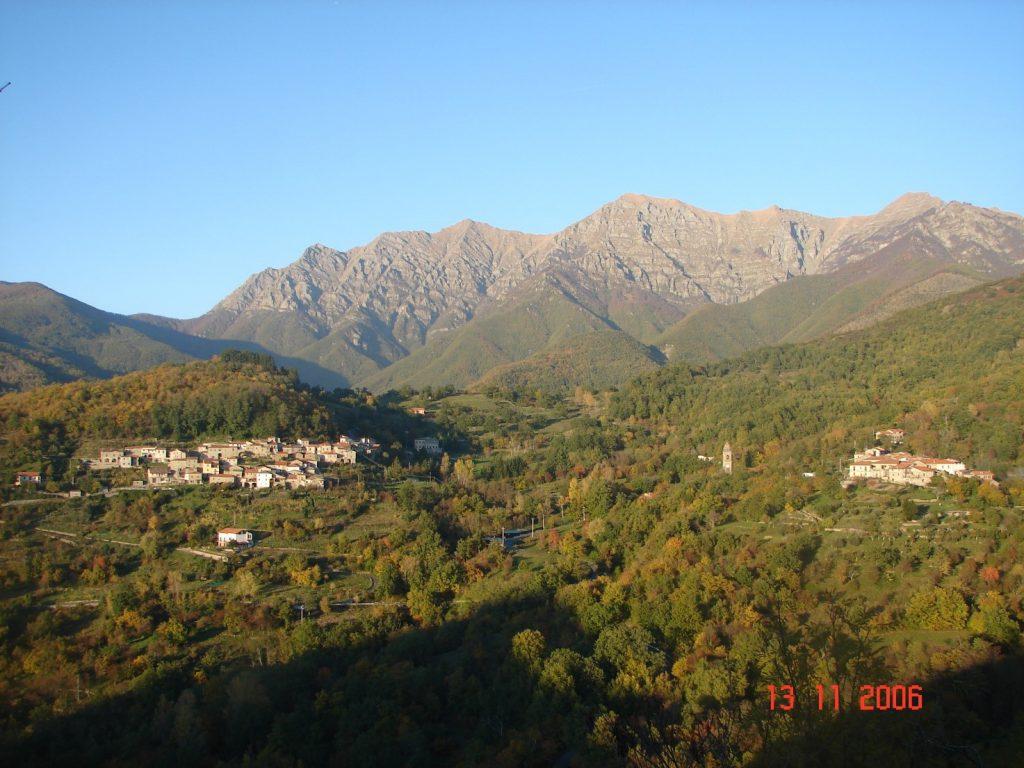 Le due frazioni del borgo di Lusignana